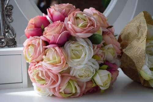 Bouquet Bride Wedding Flowers Romantic Love