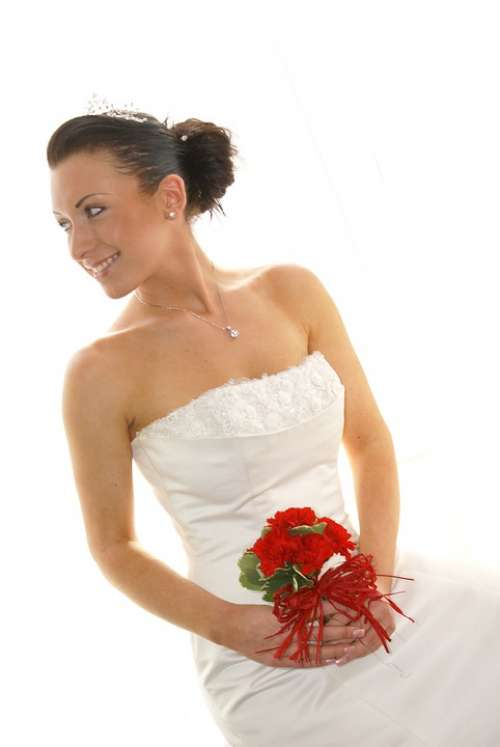 Bride Wedding Woman Love Bridal Gown