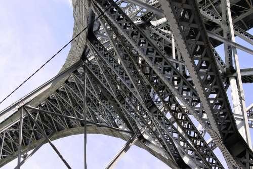 Bridge Eifel Architecture Porto