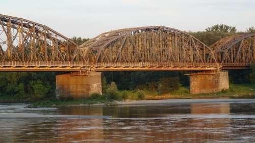 Bridge River Crossing Steel Light Lighting