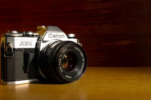 Camera Photo Canon Ae-1 Photography Vintage Old