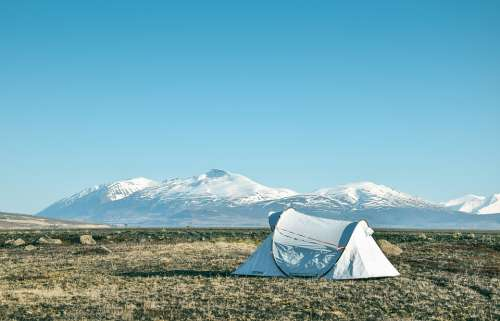 Camp Mountains Iceland Scenic View Landscapes