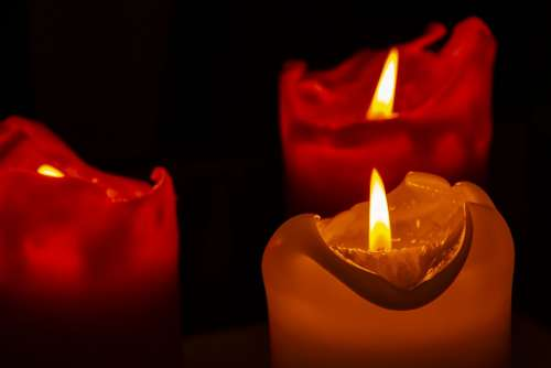 Candles Spa Relaxation Massage Light Relax