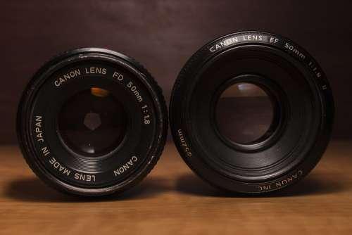 Canon Lens Camera Dslr Photograph Old Digital