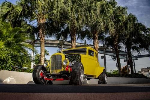 Cars Usa Retro Auto Oldtimer Classic America
