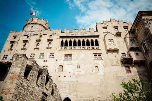 Castello Del Buonconsiglio Trento Castle Building