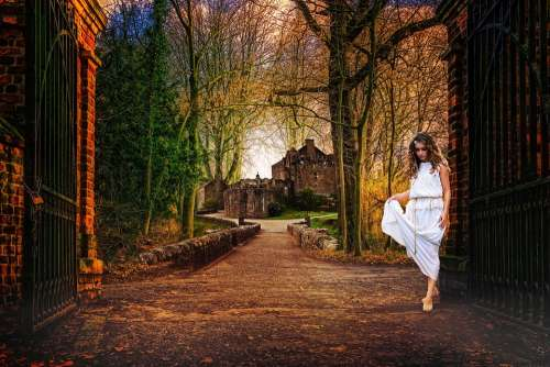 Castle Fairy Princess Fantasy Mystical Mysterious