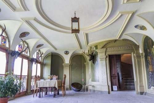 Castle Interior Wildegg Palace Architecture