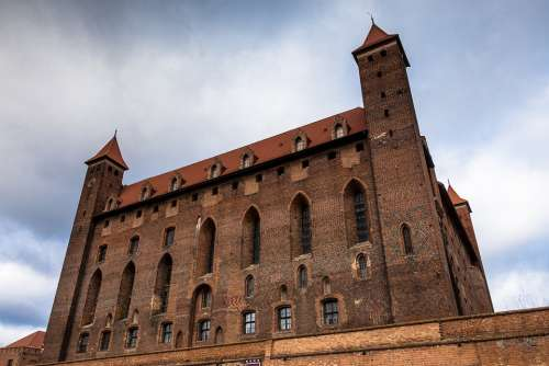 Castle Gniew Poland Teutonic Architecture