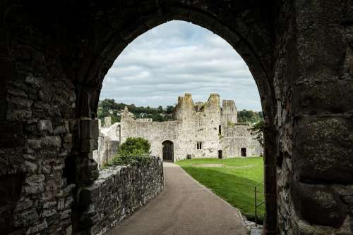 Castle Medieval Historical Architecture Wales