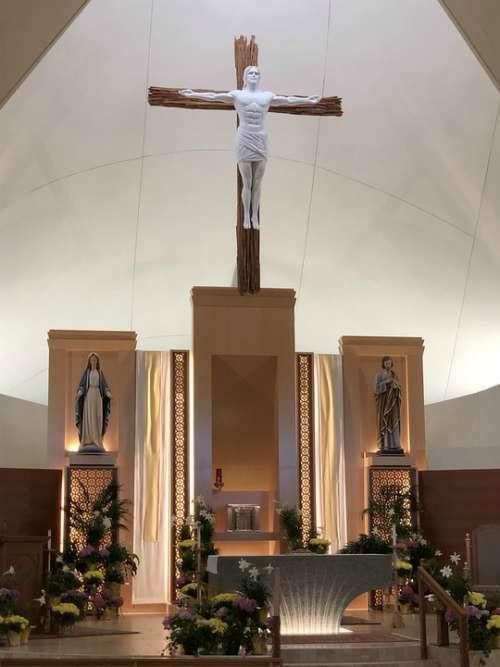 Catholic Church Cross Altar Jesus Christian