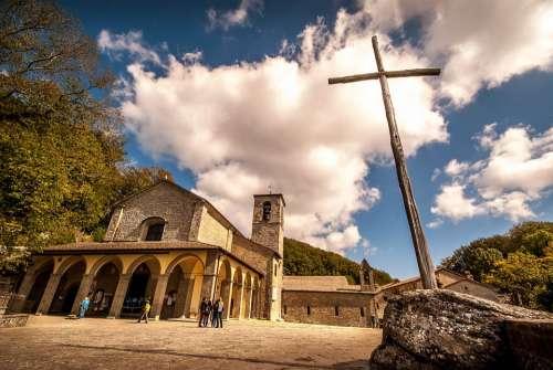 Church Cross Easter Religion Faith Christ