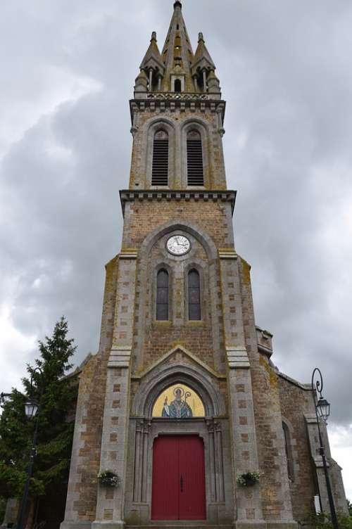 Church Catholic Church Bell Tower Church