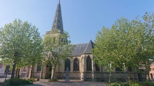 Church Catholic Religion Sainte Architecture Faith