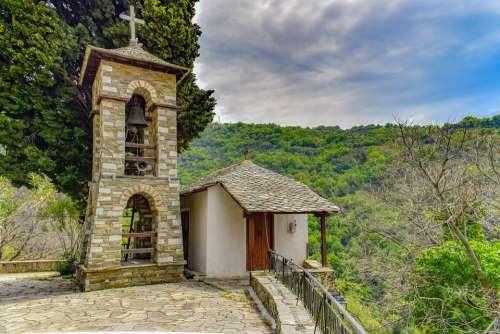 Church Architecture Belfry Sky Religion Orthodox