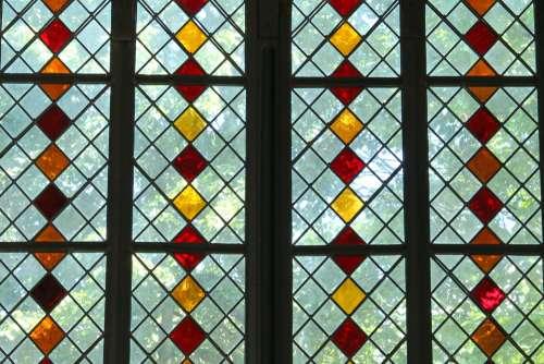 Church Window Stained Glass Church Window
