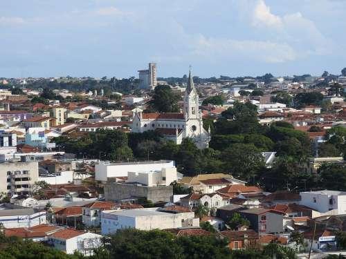 City Avare São Paulo Brazil Urban The Region