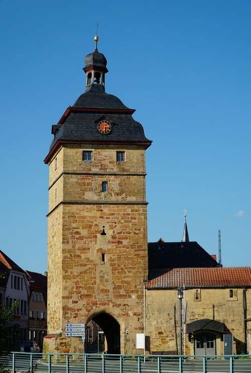 City Tower Bad Staffelstein Upper Franconia