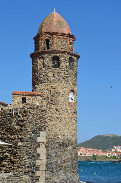 Collioure Sky Blue Summer