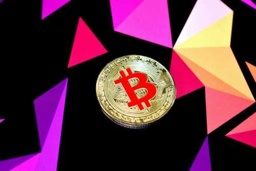 Colored Bitcoin Red Bitcoin Gold Red Bitcoin Bitcoin