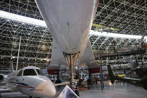 Concorde Supersonic Passenger Plane Aircraft