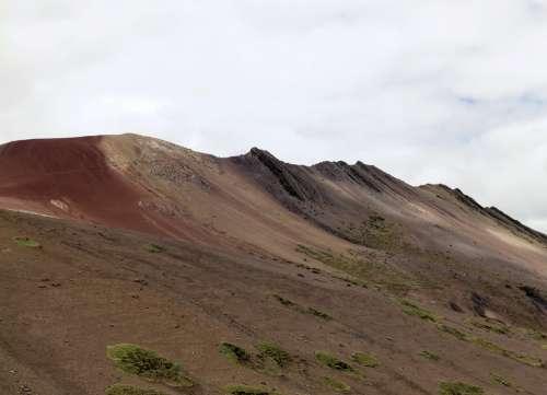 Cordillera De Vilcanota Rainbow Mountains Peru