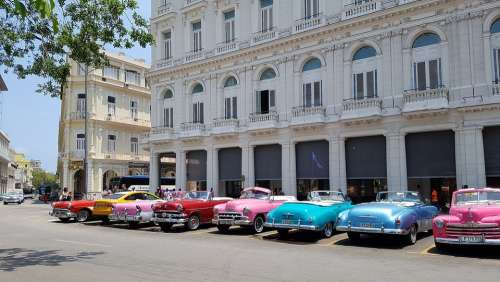 Cuba Havana City Street Car Oldcar