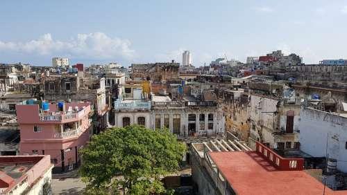 Cuba Havana City Travel Photo Street