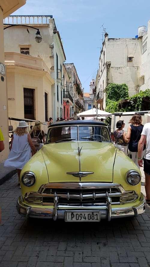 Cuba Havana City Street Car
