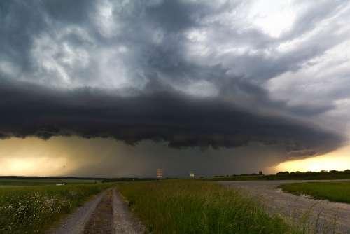 Cumulonimbus Meteorology Thunderstorm Storm