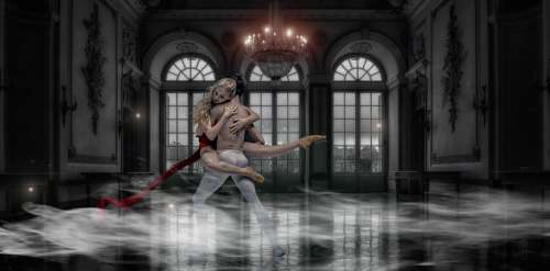 Dancer Fashion Elegant Music Dance Women Ballet