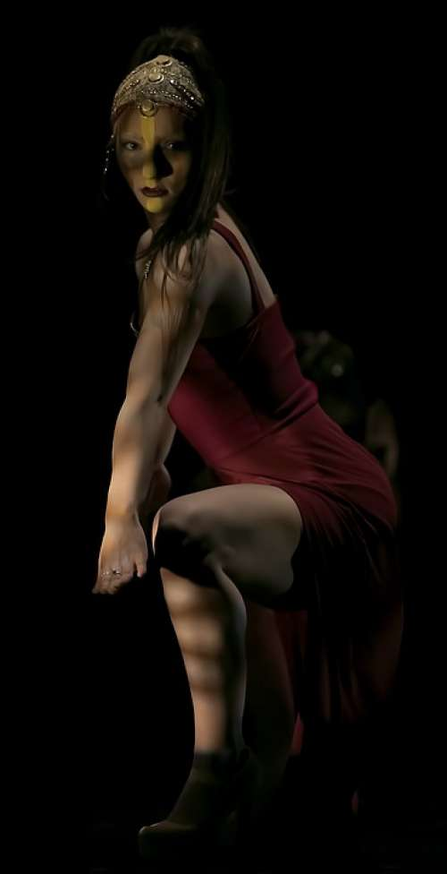 Dancers Dance Woman Dancing Elegance People