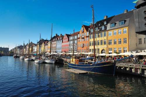 Denmark Danish Copenhagen New Haven Tourist City