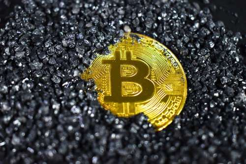 Dirty Bitcoin Submerged Submerged Bitcoin