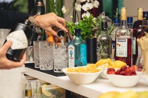 Drink Cocktail Gin Barman Bar Alcohol