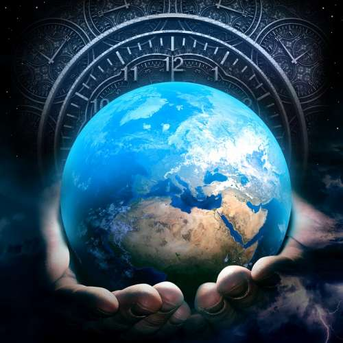 Earth Hour Clock Time Hands Hold Holding Care