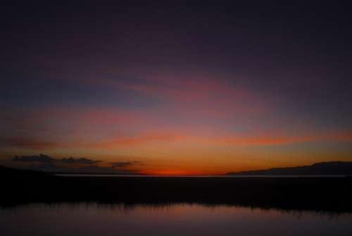 Earthday Africa Lake Eyasi Tanzania Sunset