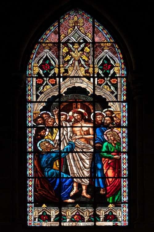 Ecuador Quito Basilica Church Window