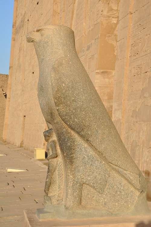 Edfu Temple Egypt Pharaoh Luxor Travel Nile