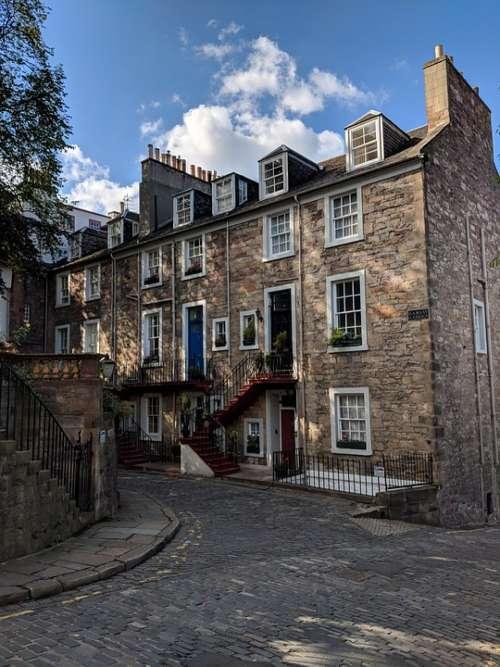 Edinburgh House Scotland City Architecture