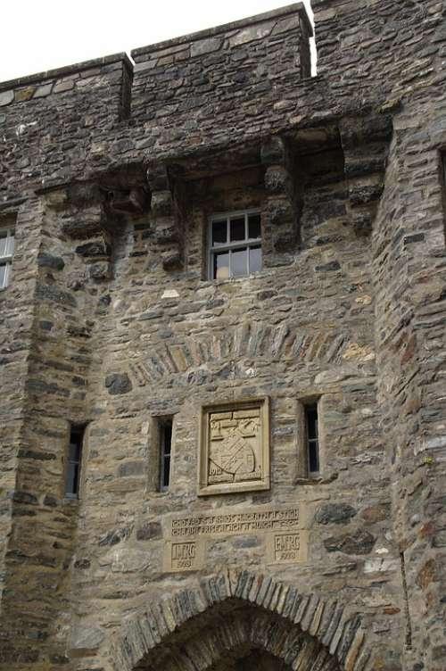 Eilean Donan Castle Castle Wall Stone Wall Scotland