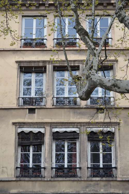 Facade City Lyon