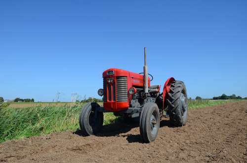Farming Tractor Agriculture