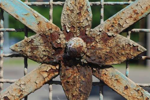 Fencing Rust The Fence Metal