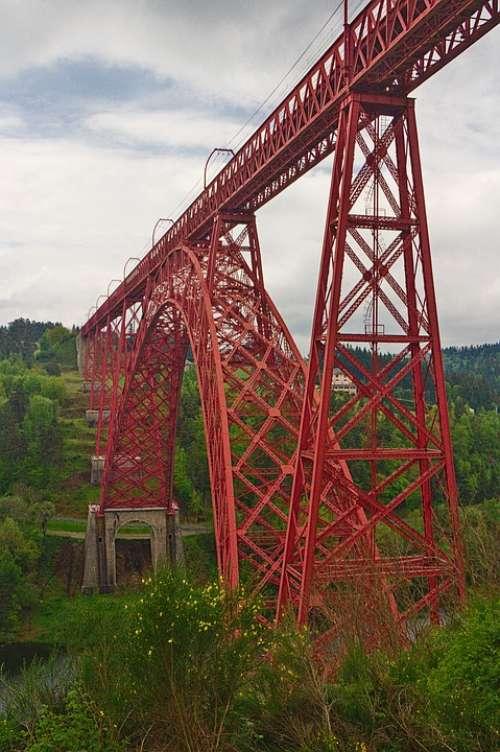 France Cantal Viaduct Eiffel
