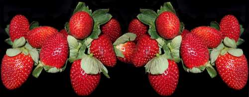 Fruit Strawberries Fresh Dessert Healthy Food