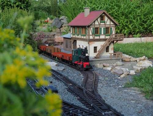 Garden Railway Lgb Model Railway Garden Stainz