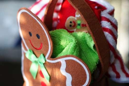 Gingerbread Happy Christmas Holidays Seasonal