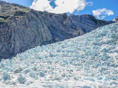 Glacier Ice Snow Nature Landscape Mountains
