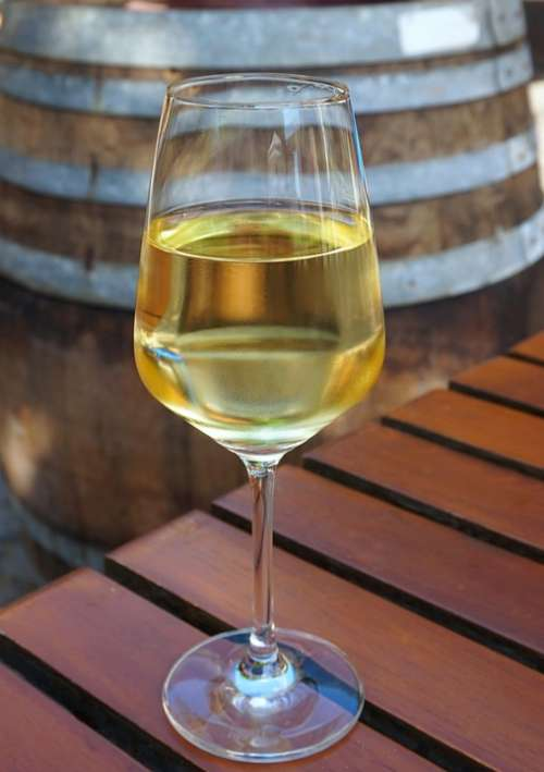 Glass Wine Wine Glass Barrel
